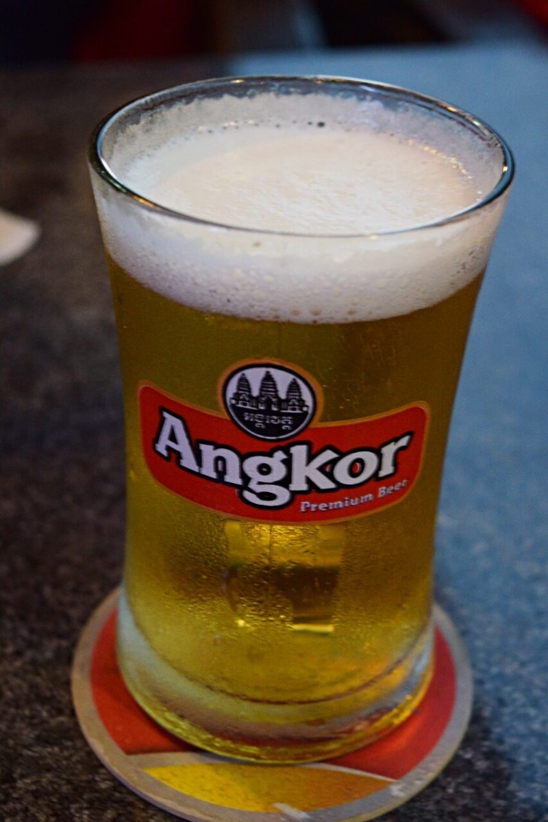 how much does beer cost in cambodia?
