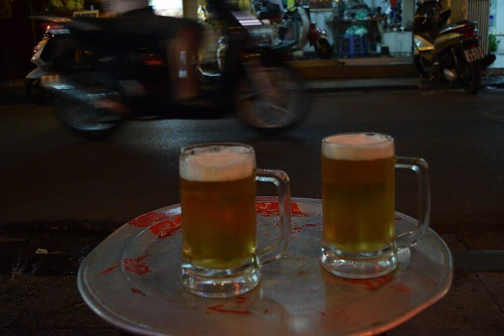 how much does beer cost in vietnam