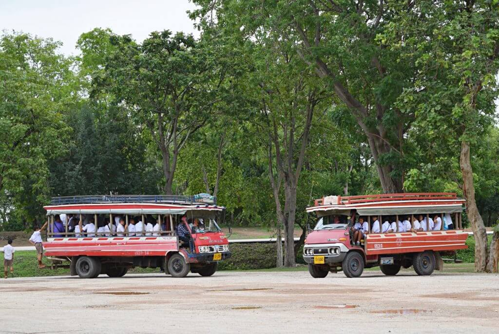 How much does transportation cost in thailand