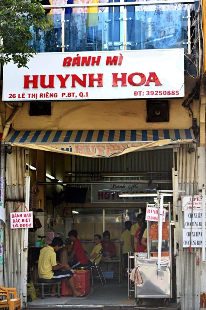 where to have banh mi in ho chi minh city
