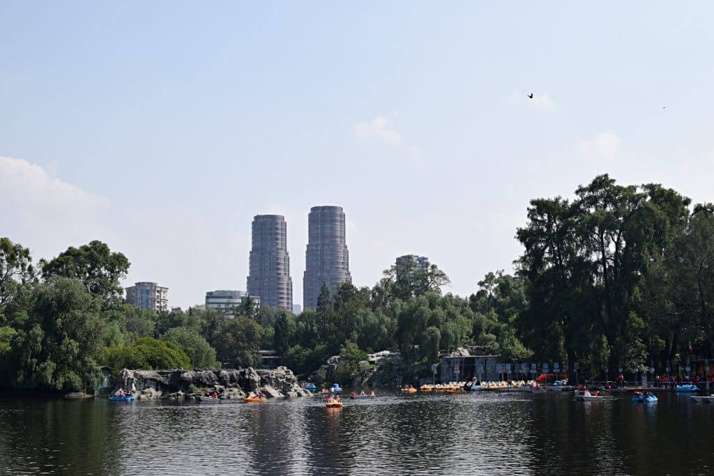 Exploring Chapultepec park in Mexico City