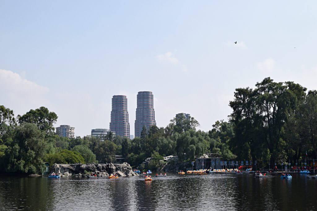 Exploring Chapultepec park in Mexico City