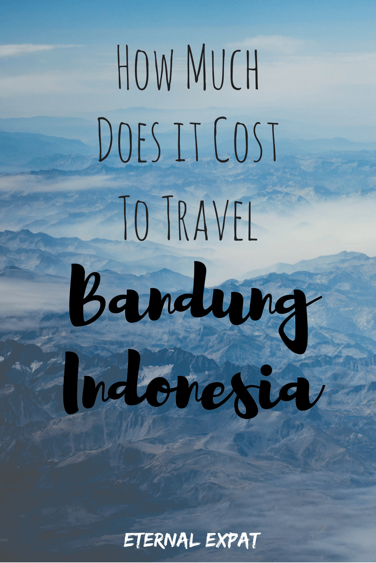 cost of travel to bandung indonesia