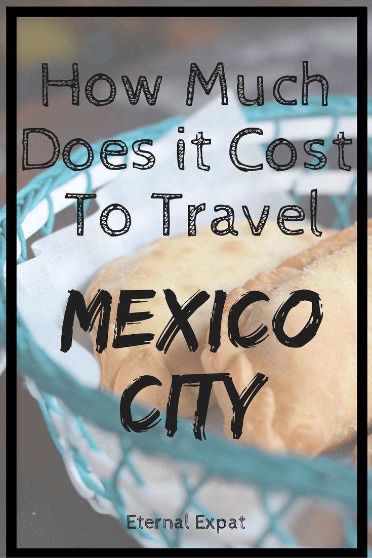 how much it costs to travel mexico city